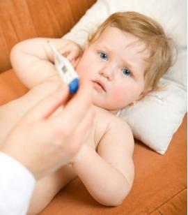Что делать если у ребенка температура 39 после прививки
